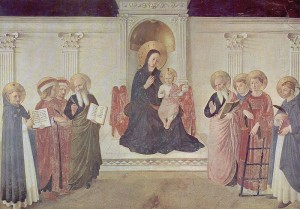 Sacra Conversazione by Fra Angelico