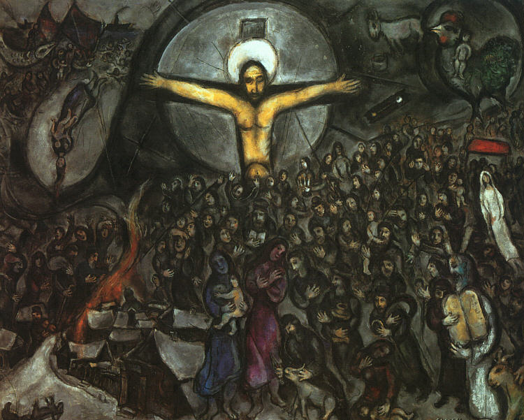 Exodus by Marc Chagall