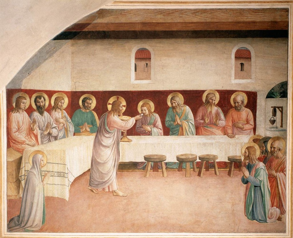 Institution of the Eucharist by Fra Angelico