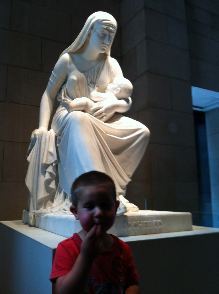 Anthony at the MFA