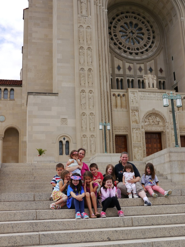 group photo national shrine