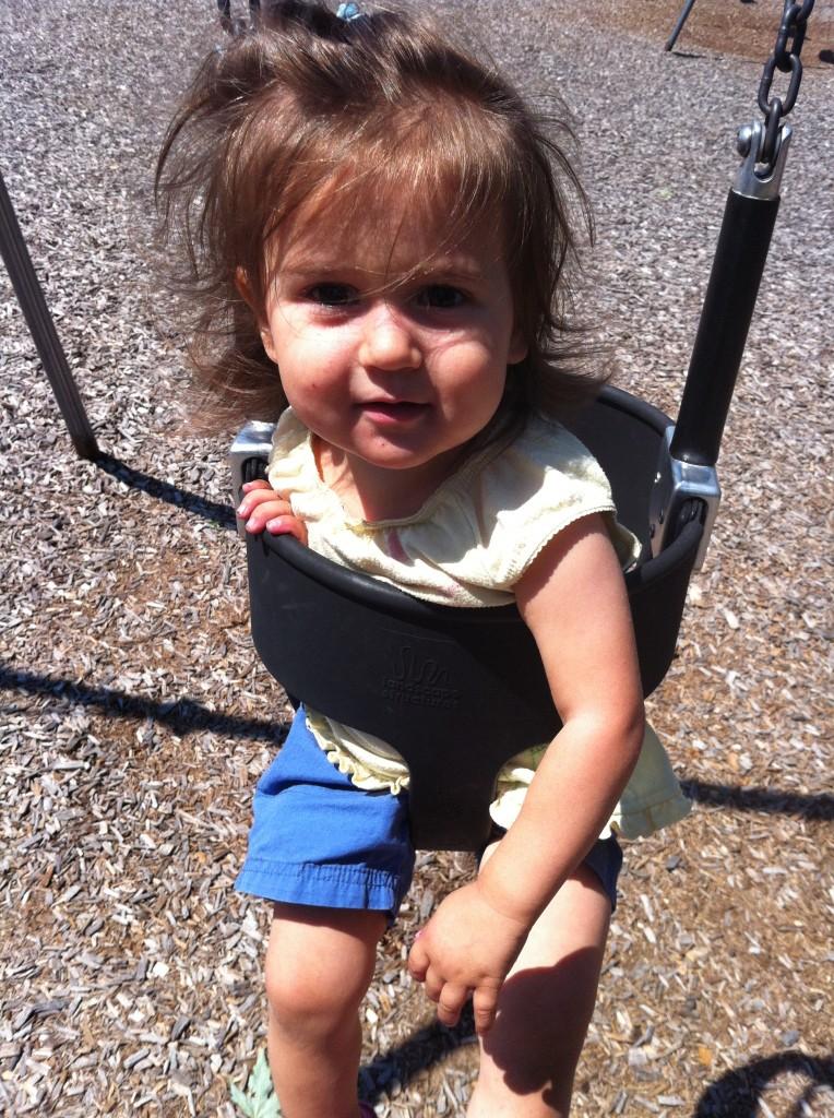 Lucy swings