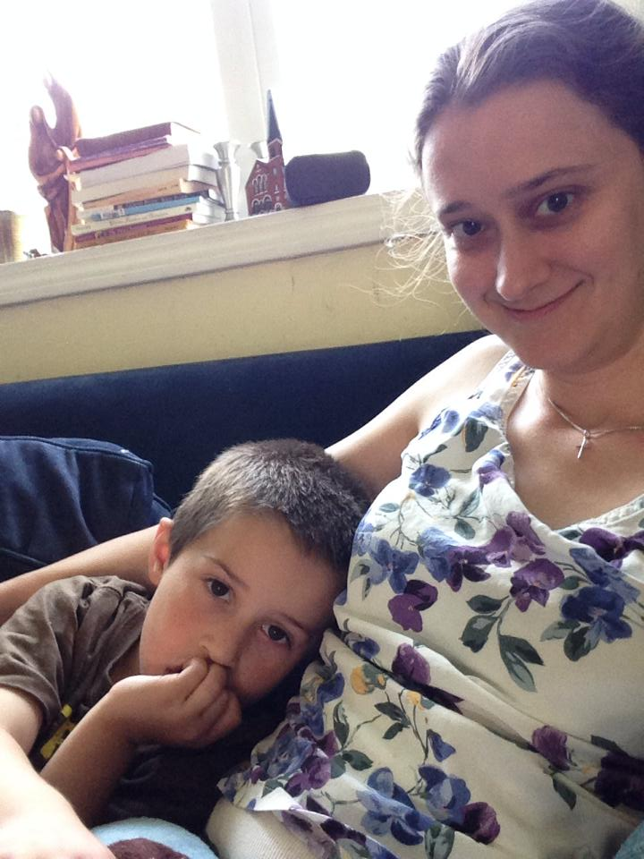 Ben with Auntie Tree