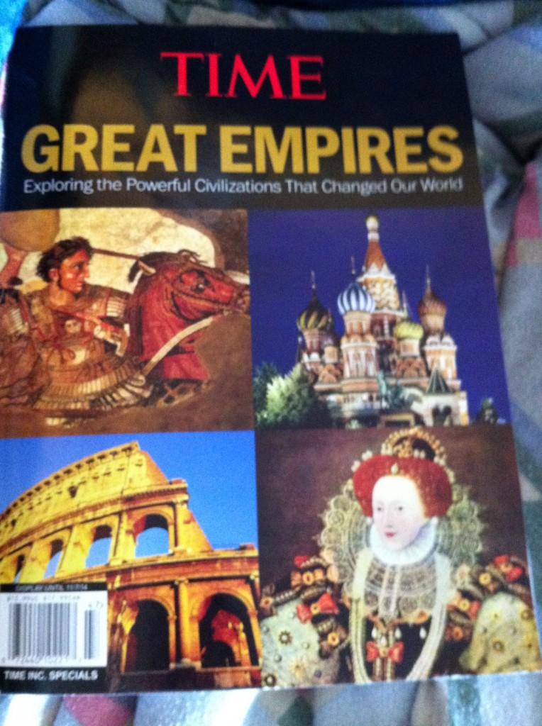 Look mom, Alexander the Great! Queen Elizabeth! Rome! Russia! Can we get it? Please?