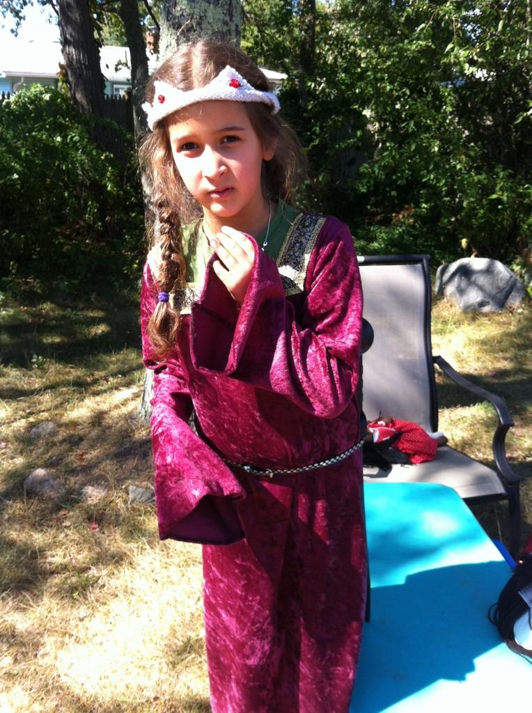 Medieval warrior queen.