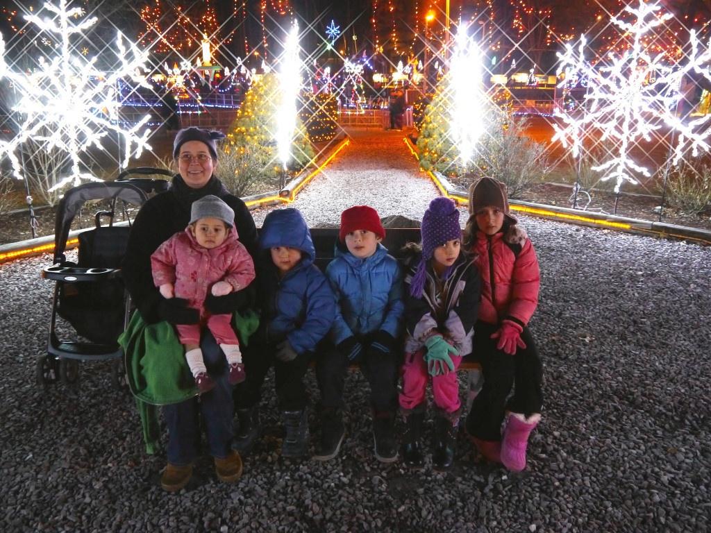 family photo at La Salette Shrine