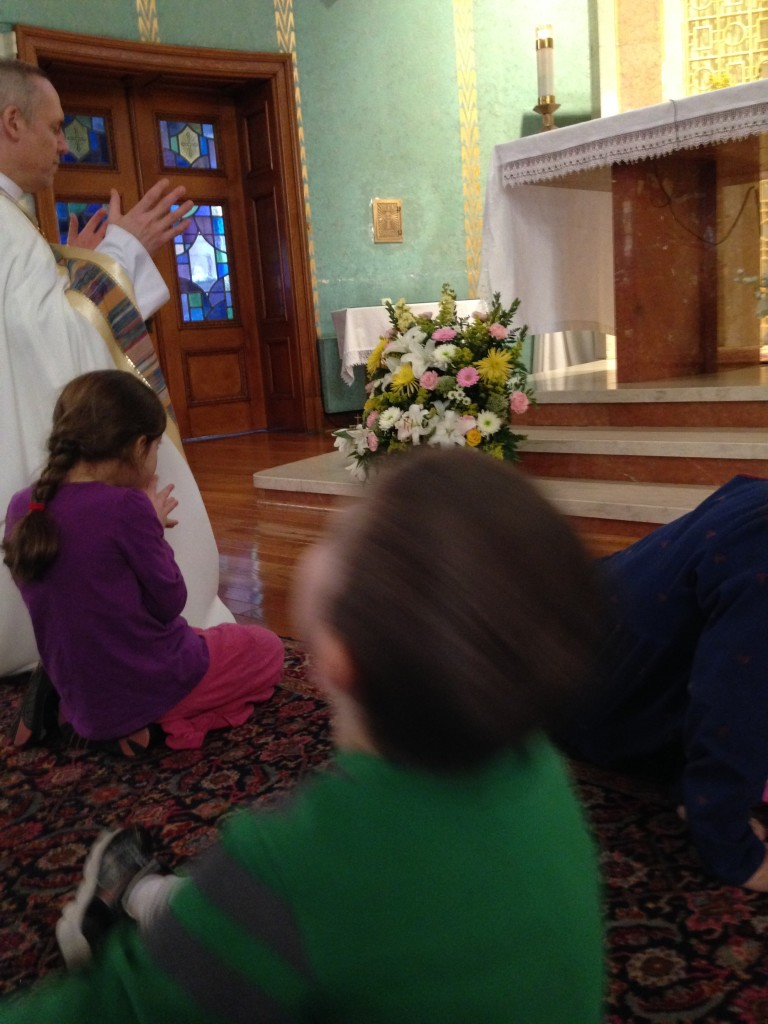 at homeschooler's adoration