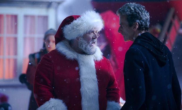 """Nobody likes the tangerines,"" says the Doctor to Father Christmas"