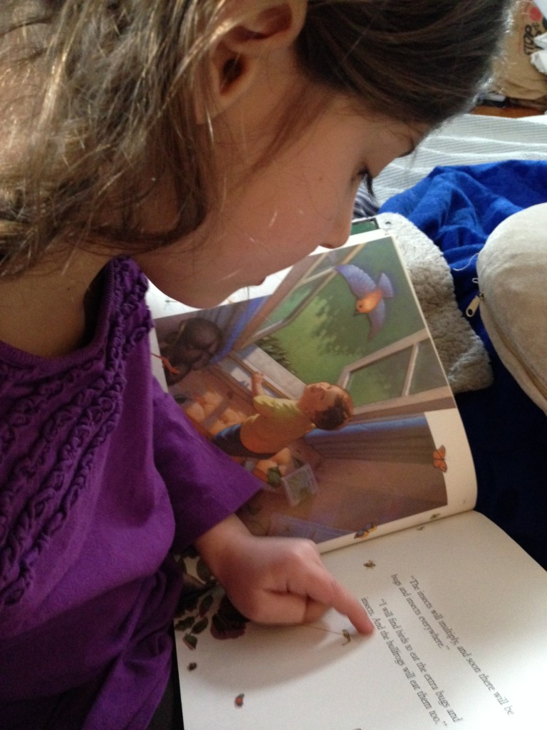 Sophie reads The Salamander Room
