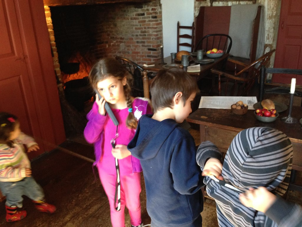 Audiotour in Buckman Tavern