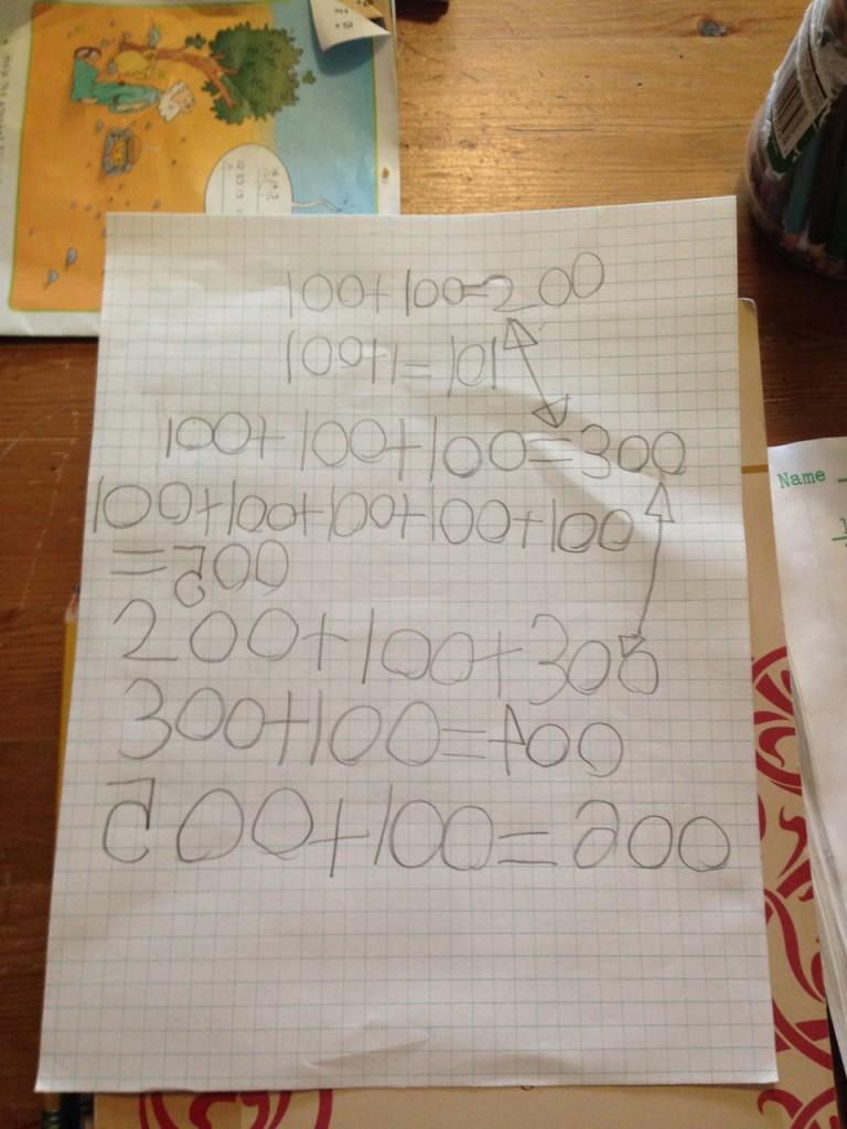 Sophie adds hundreds