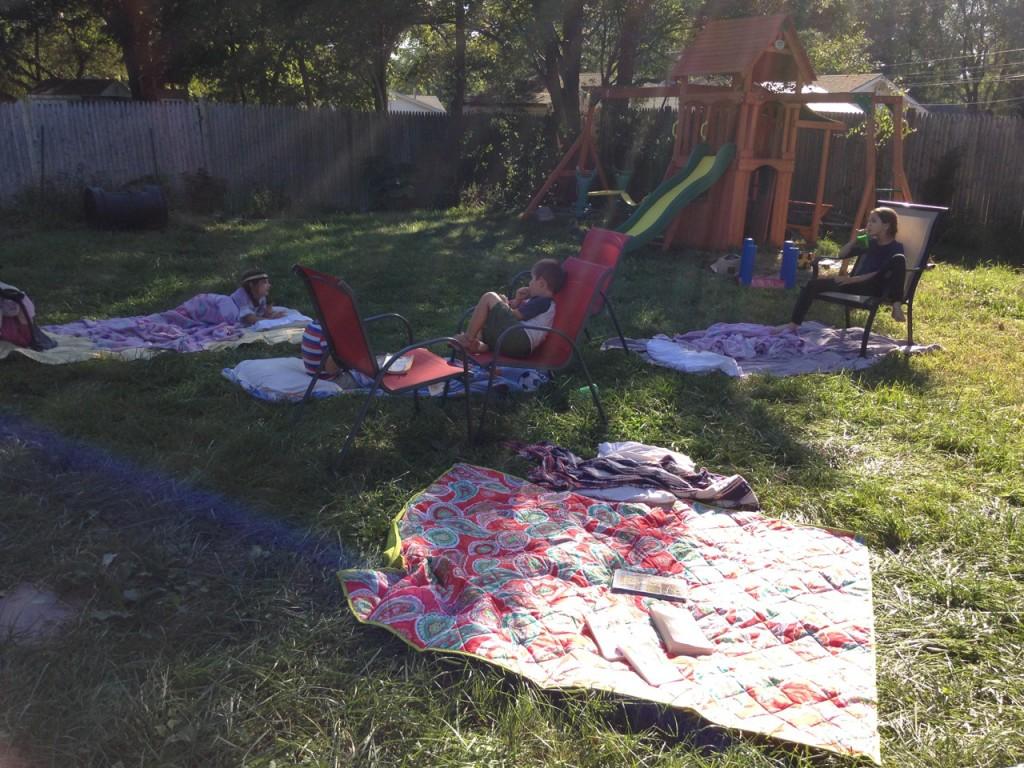 Storytime gypsy camp.
