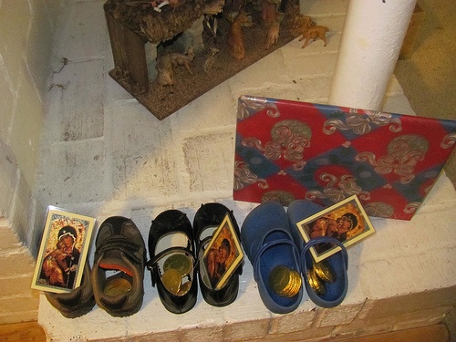 St Nicholas Day shoes in 2010.