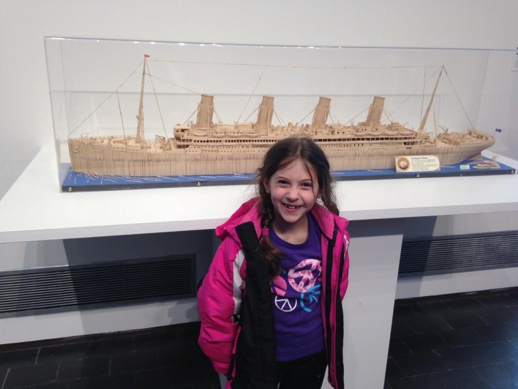 Toothpick Titanic