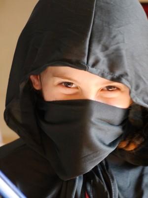 Sophie the ninja.
