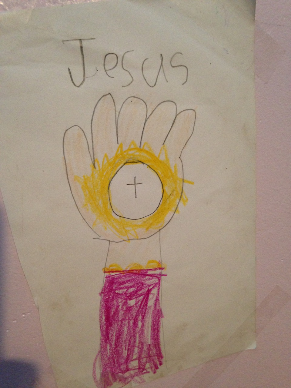 Bella's picture of the Eucharist