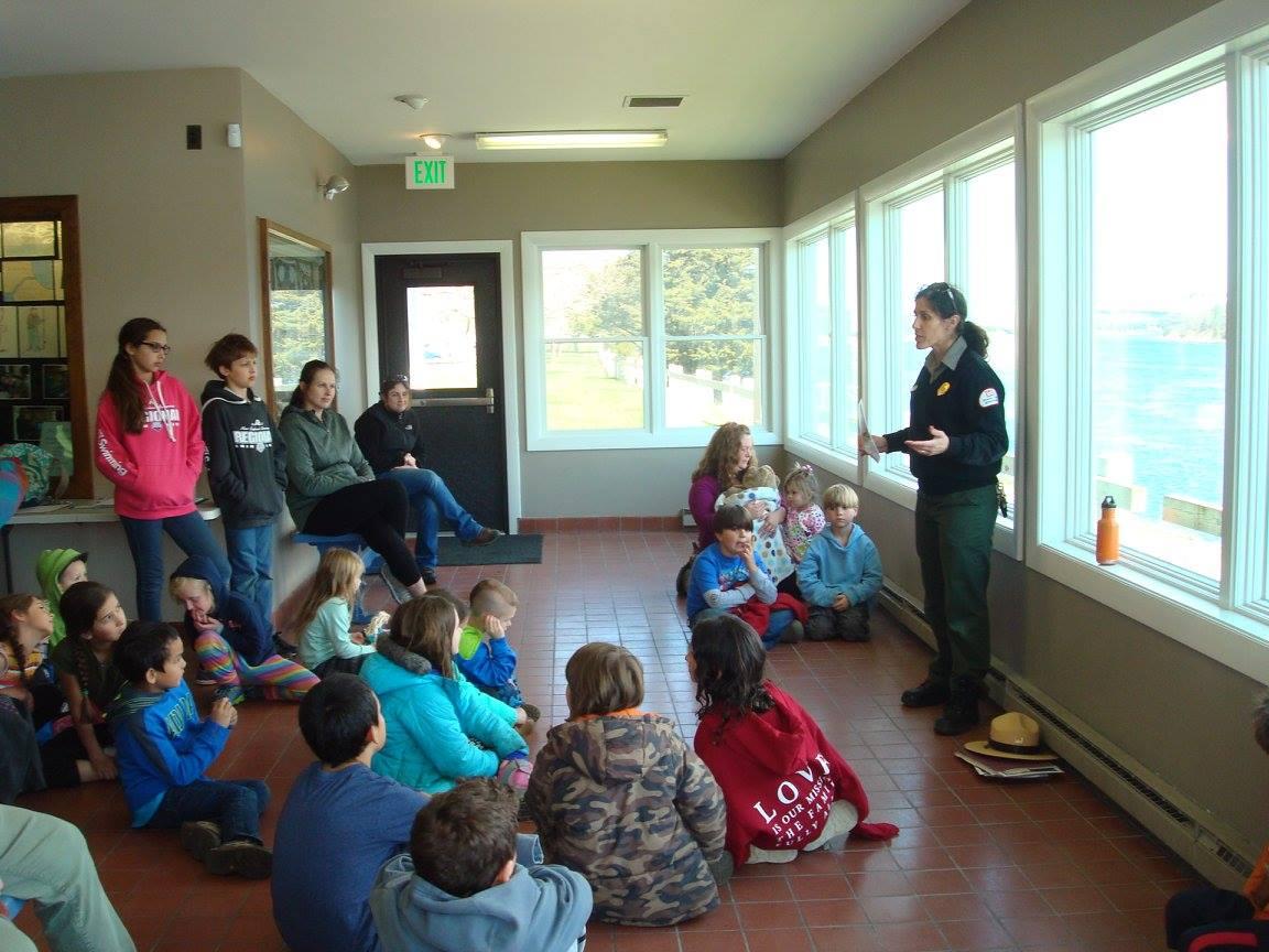 Ranger Sam tells us about herring.