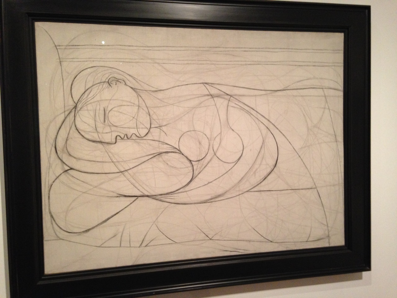 Picasso drawing.
