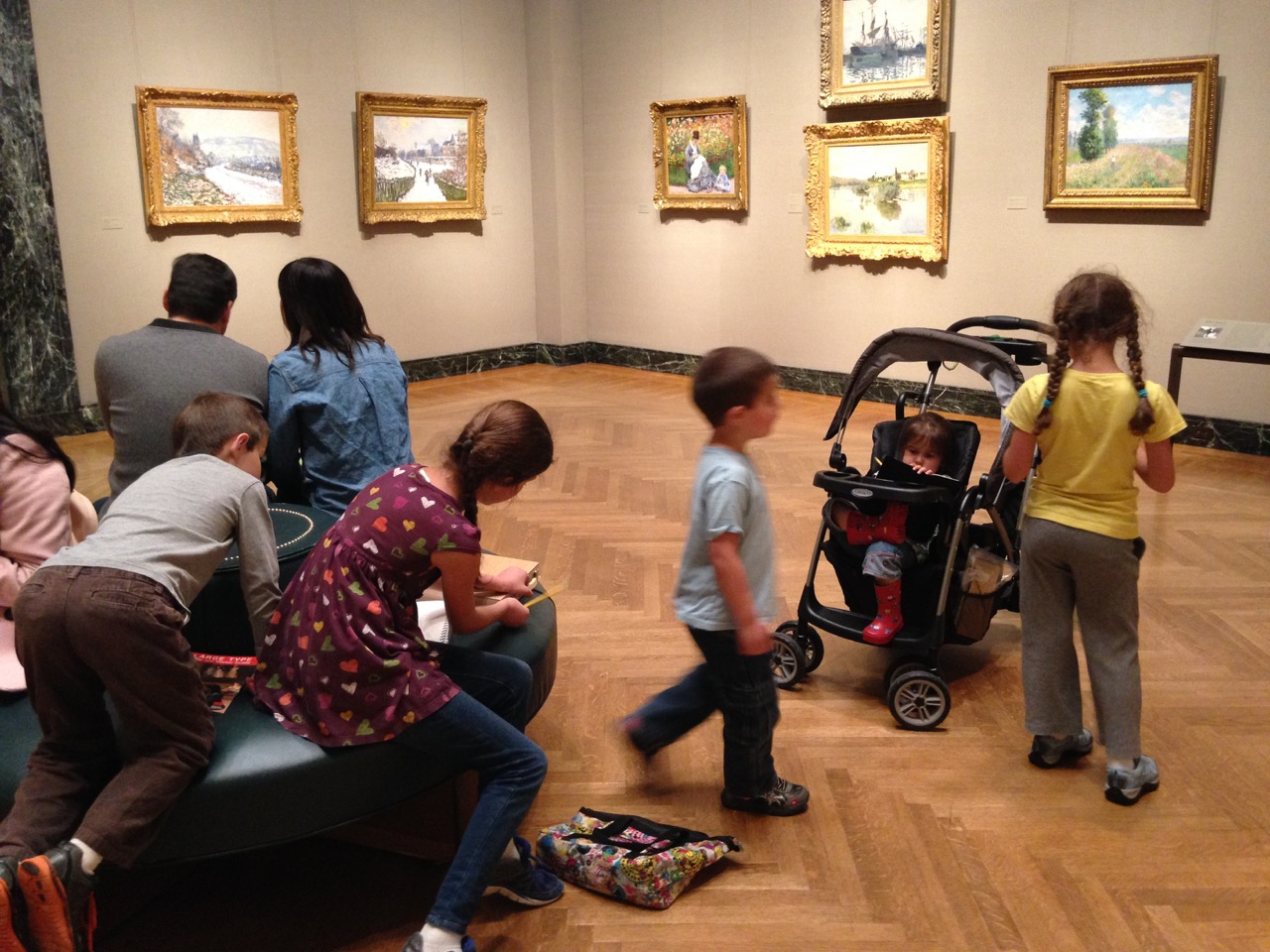 The kids and the Impressionists.