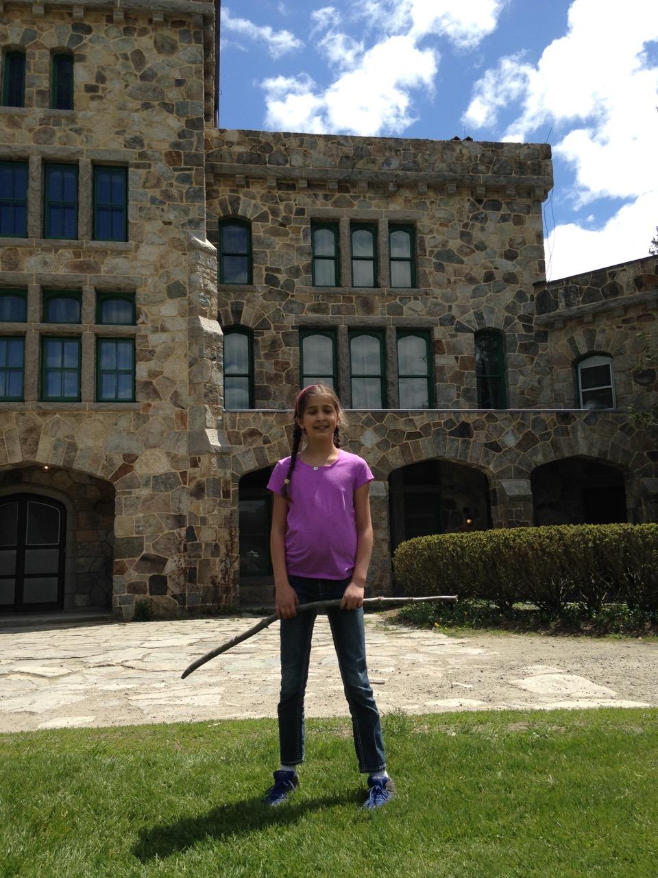 Bella at the Ames Mansion
