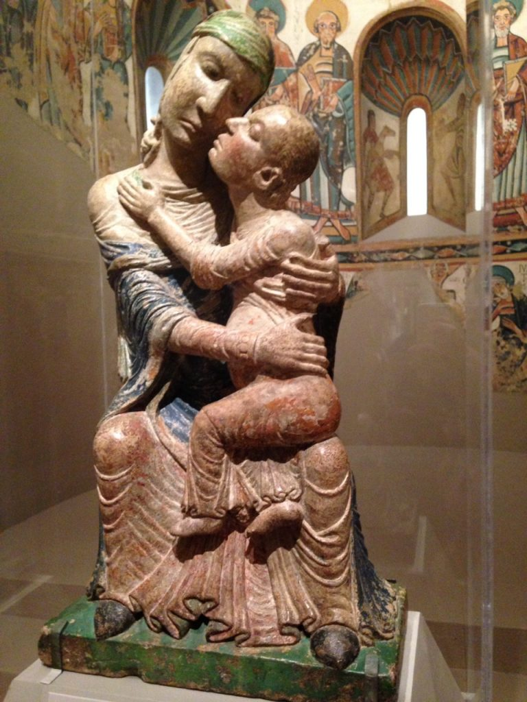 Madonna and Child at the MFA.