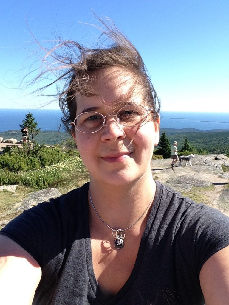 Selfie on Cadillac Mountain.