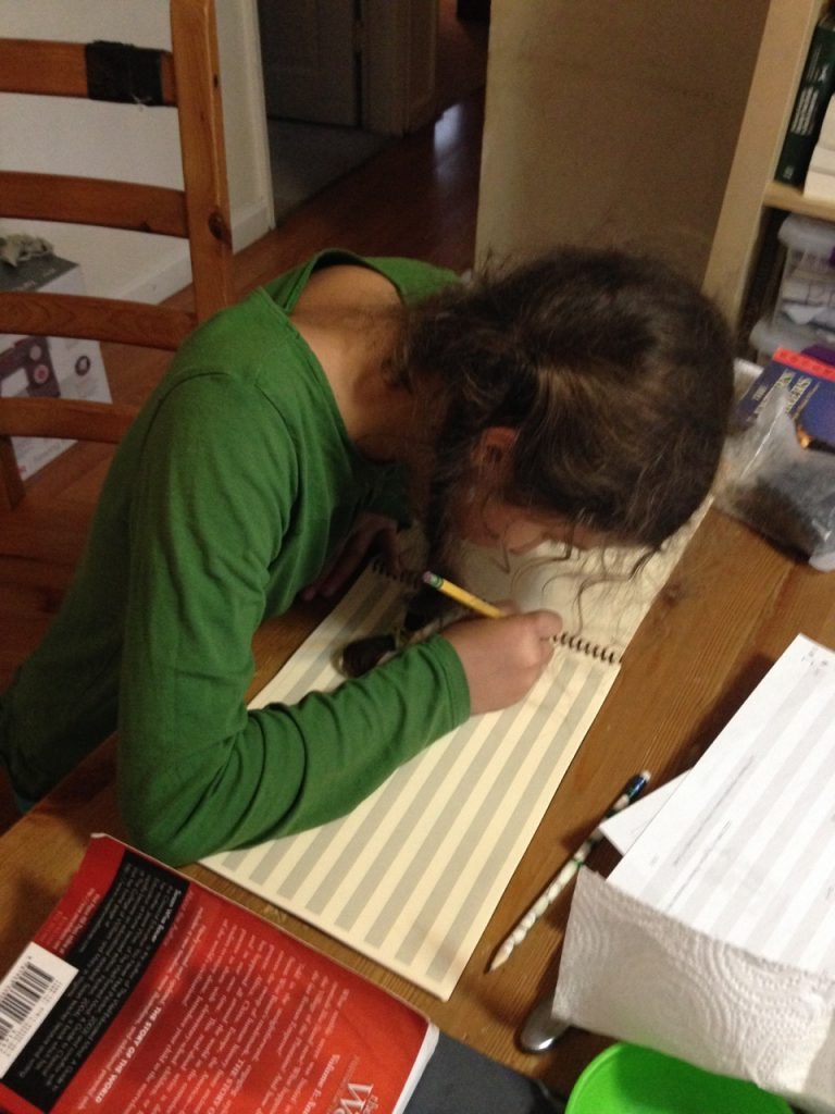 Bella begins her Book of Centuries