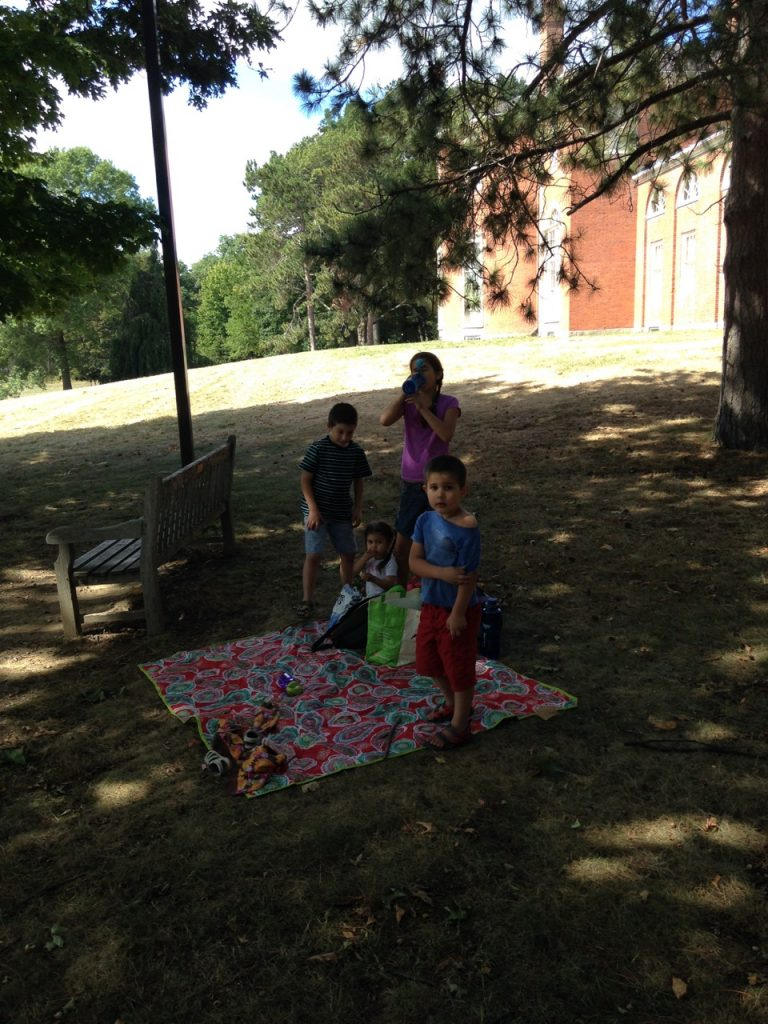Picnic at Gore Place.