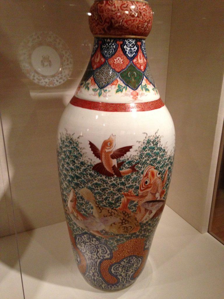 Chinese vase.