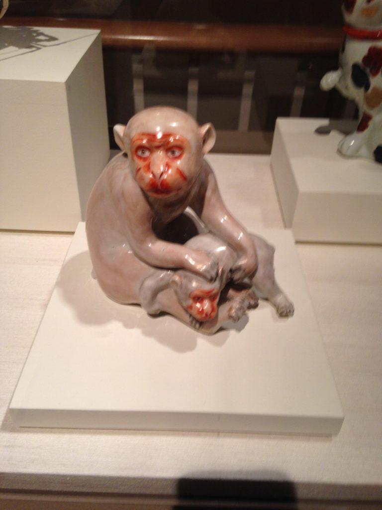 Anthony loved these monkeys.