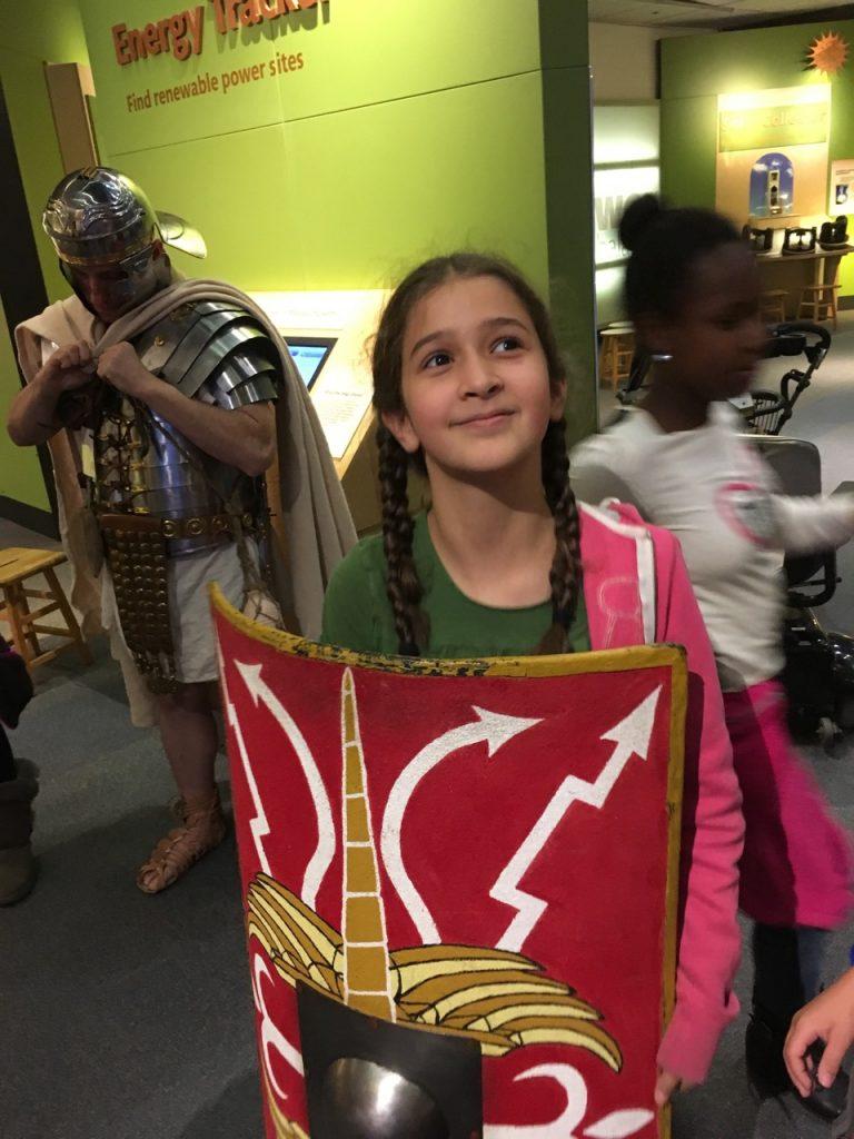 Roman shield.